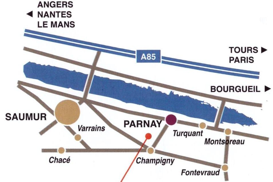 Plan Domaine de Rocheville